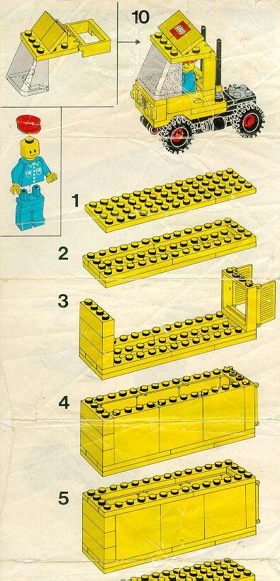 City Tractor Trailer Lego 6692 Lego Instructions Pinterest