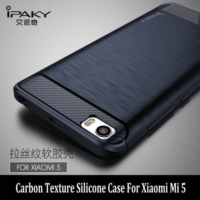 info for 9d244 c4738 Original iPaky New Simple Case For Xiaomi Mi5 Carbon Fiber Texture ...