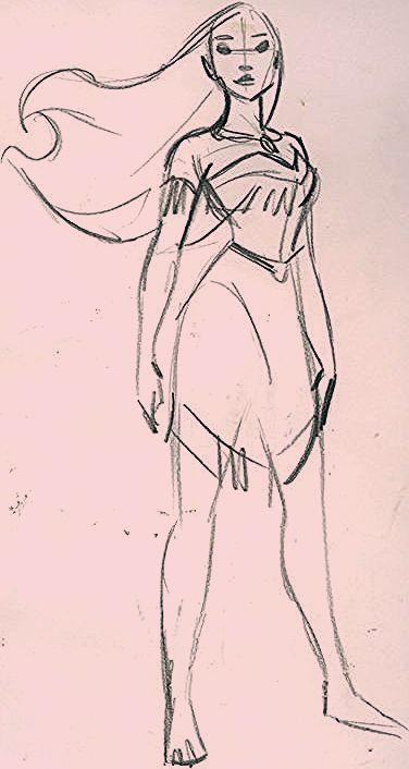 Photo of pocahontas sketch
