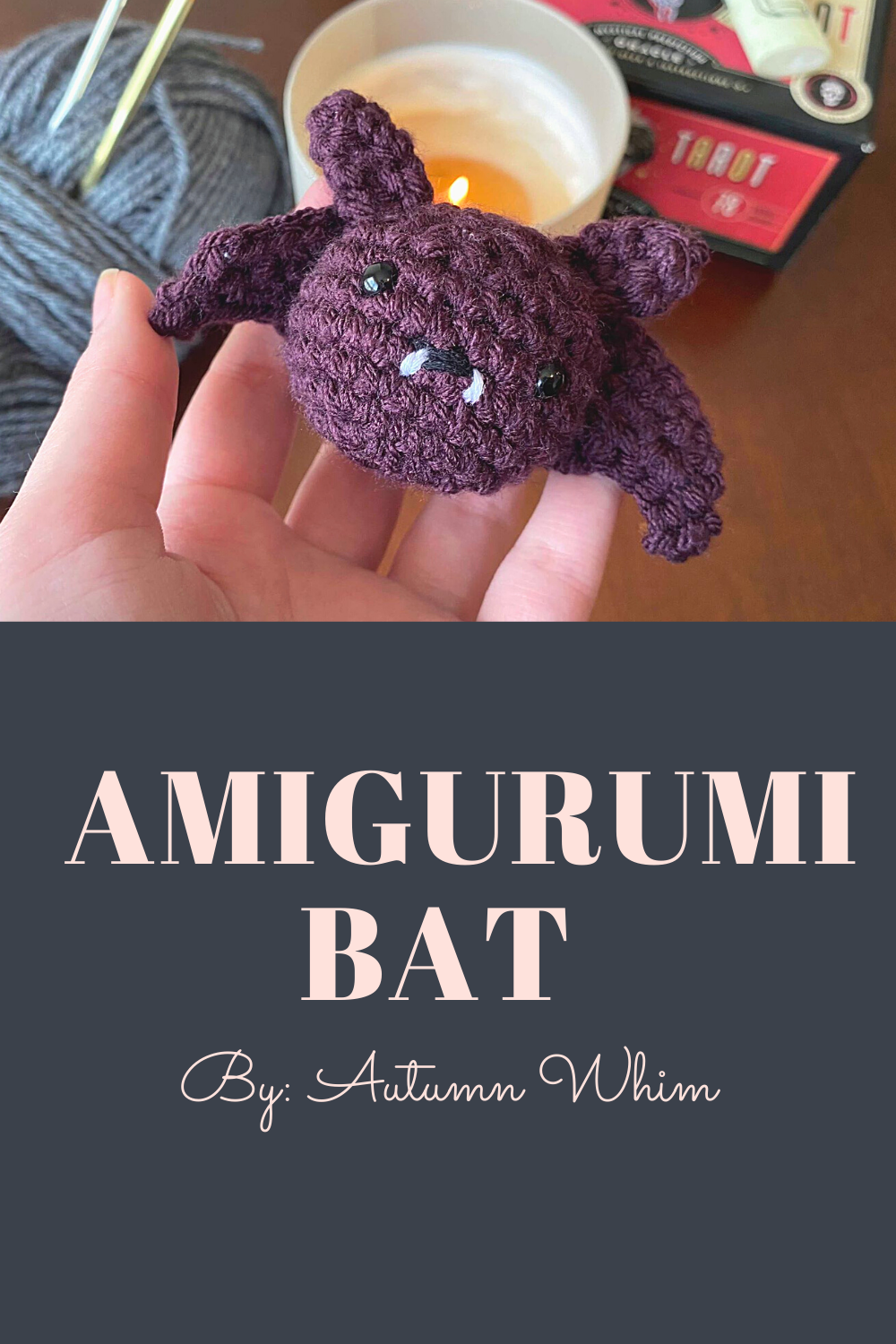 Fall designs just launched on my Etsy shop Autumn Whim! This adorable bat is perfect for decorating for Fall! Check them out in my shop now! ✿ #crochet #etsy #etsyshop #smallbusiness #smallbusinessowner #shopsmall #handmade #handmadehomedecor #amigurumi #amigurumitoy #handmadecrochet #amigurumidoll