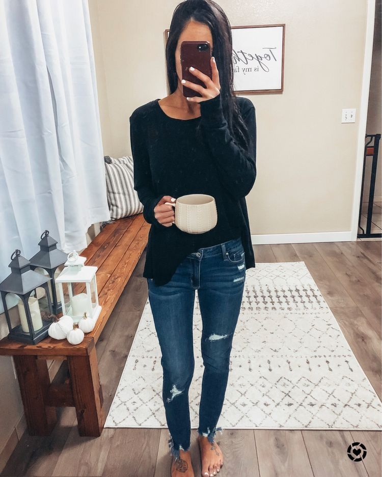 Affordable Pullover sweatshirt outfite skinny jeans postpartum fall home decor Comfy outfit loungewear Autumn outfit autumn style Boho decor affordabl…