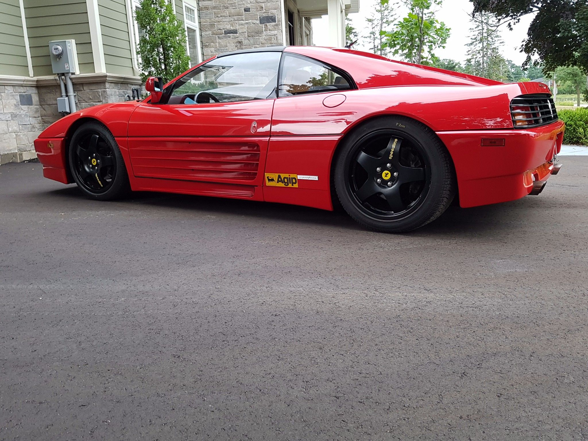 This 1989 ferrari 348 is us market car that went to canada in 1990 this 1989 ferrari 348 is us market car that went to canada in 1990 vanachro Images