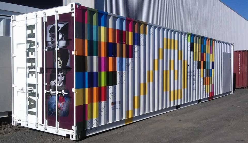 Branded containers - Boxman