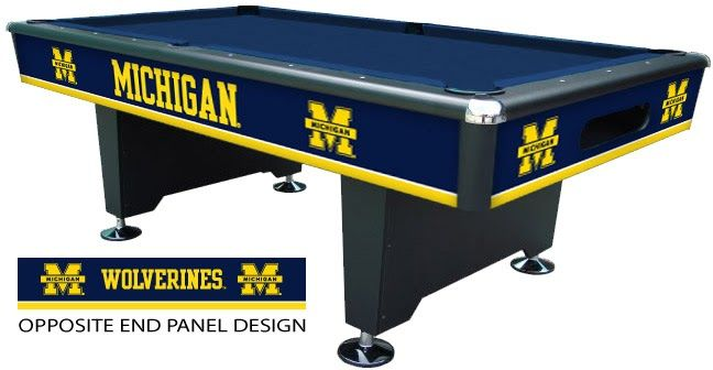 Best Place To Buy A University Of Michigan Pool Table