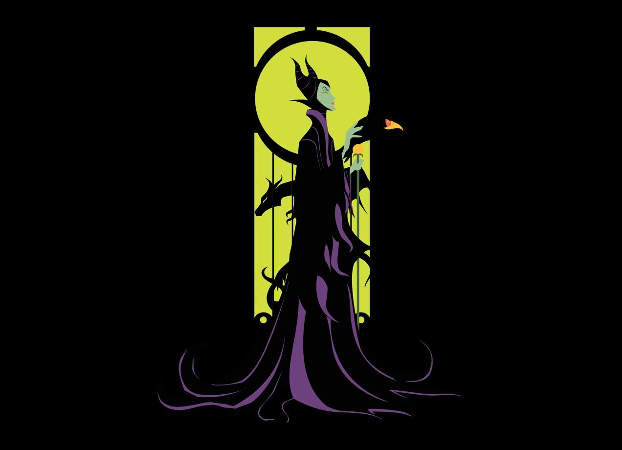 """""""Magnificent Maleficent"""" - Threadless.com - Best t-shirts in the world"""