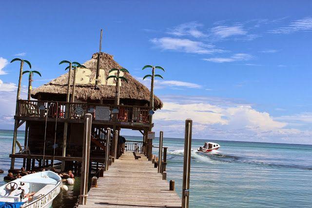 Palapa Bar - San Pedro, Belize #beach #bar