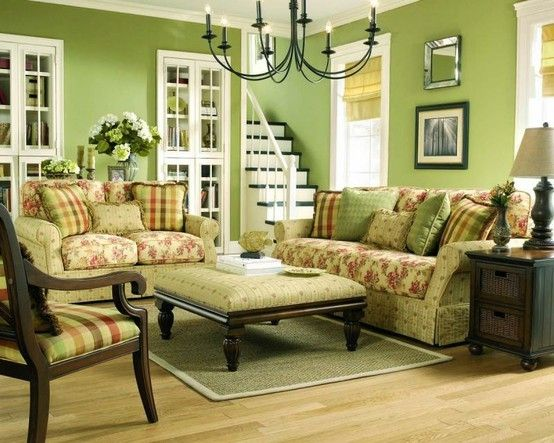 Green Country Living Room Living Room Green Sage Green Living Room Country Living Room