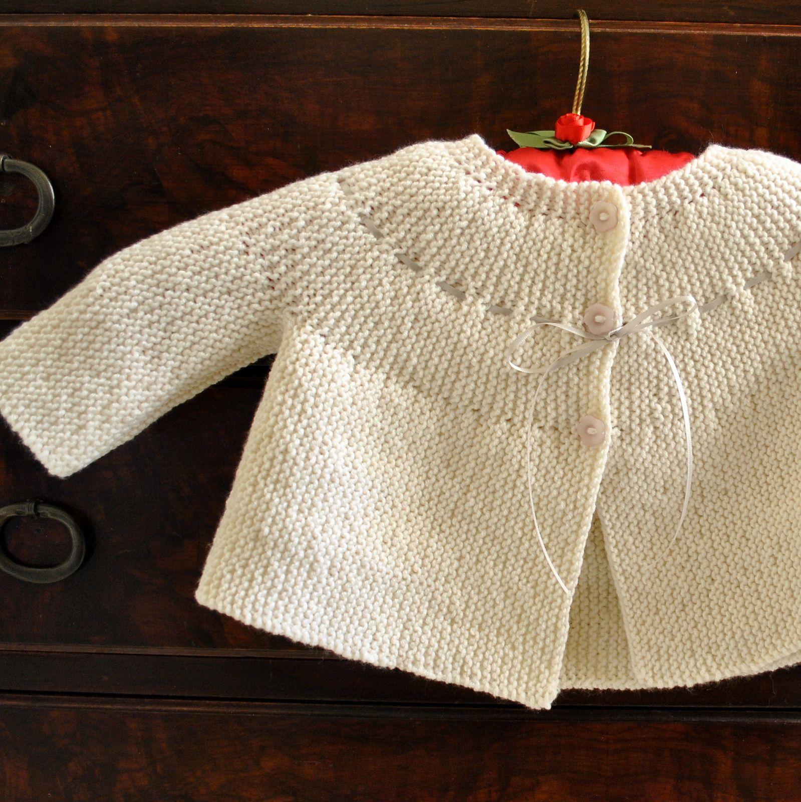 062d09903410 Garter Stitch Jacket pattern by Debbie Bliss