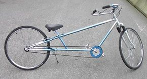 Blue stretched cruiser built 2003