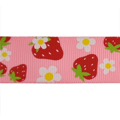 "lady bug bird pink grosgrain ribbon 7//8/"" per 1 m hair scrapbooking card making"