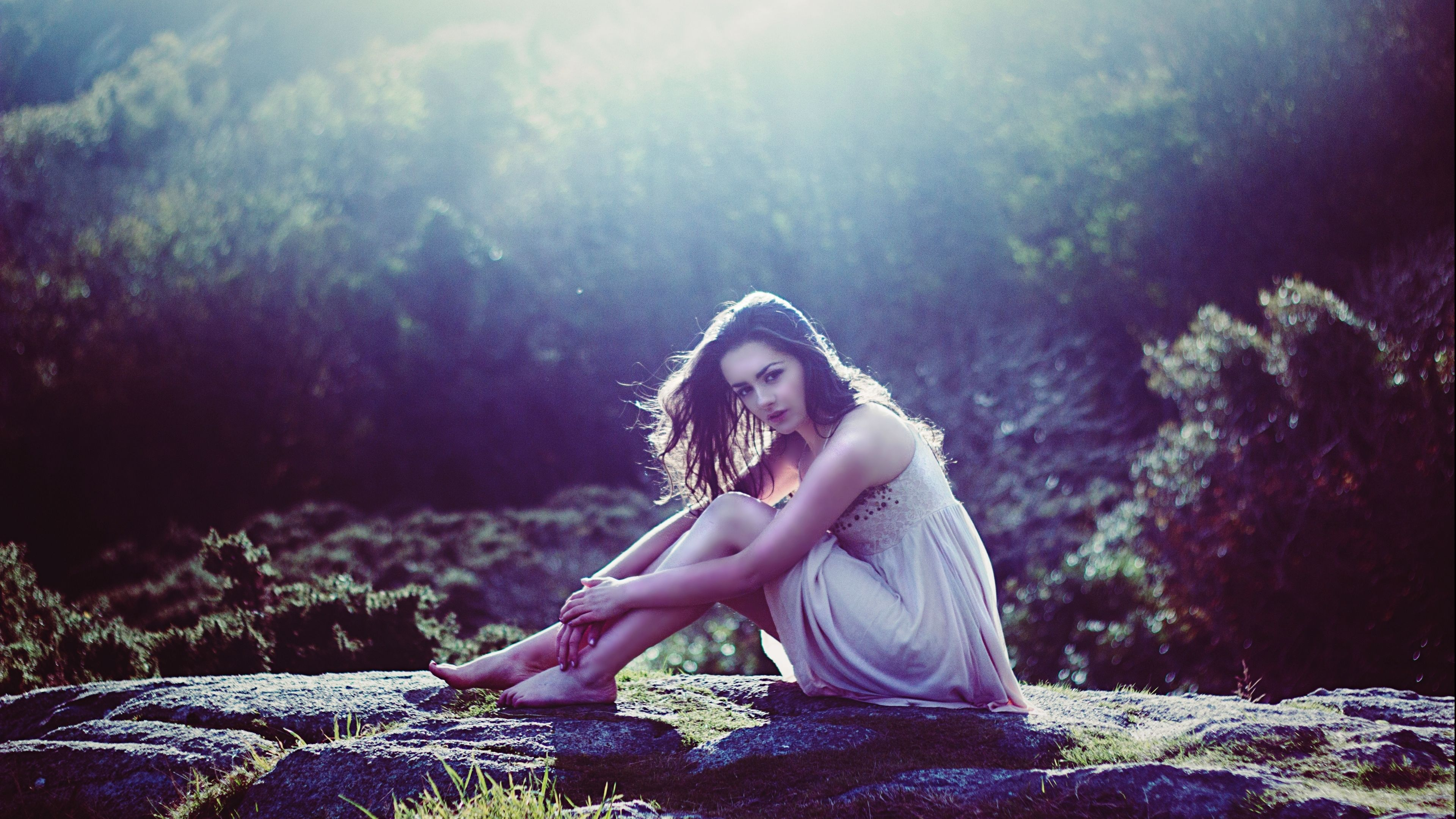 Beautiful Girl Nature K Photography Hd Summer Poems Nature Girl Feeling Lonely