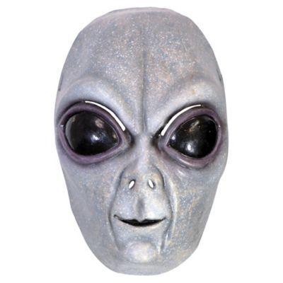 Adult Men's Area 51 Alien Mask Halloween Costume Multi-Colored
