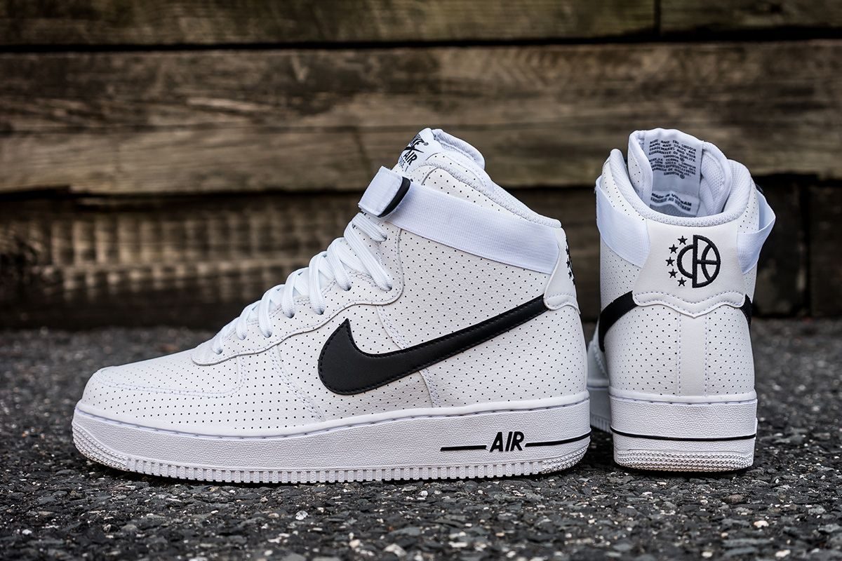 premium selection bd9a4 34096 Nike Air Force 1 High Perf White  Black