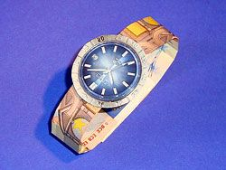 Geldgeschenk Uhr Aus 2 Scheinen Card Making Gifts Presents Money
