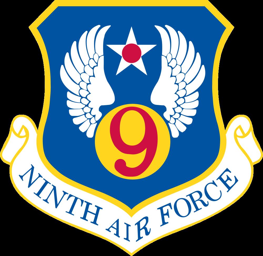 9th Air Force emblem Escudo 344f852cfc8