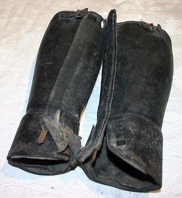 Pair of antique #women's  leather #spats / #gaiters steampunk,  View more on the LINK: 	http://www.zeppy.io/product/gb/2/172411917481/