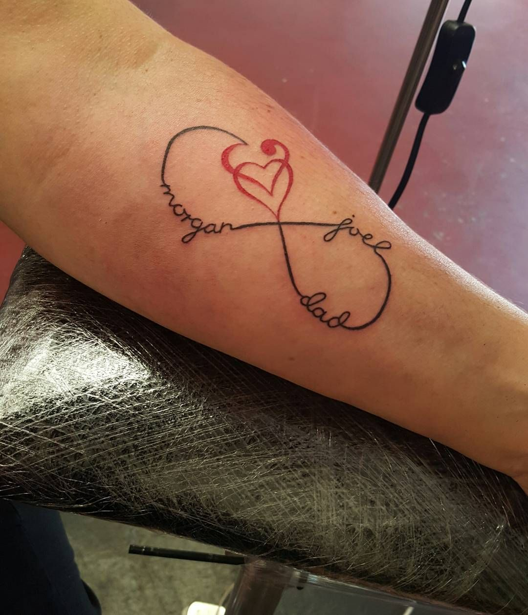Nice name tattoo designs - Image Result For Infinity Symbol With Heart Tattoo