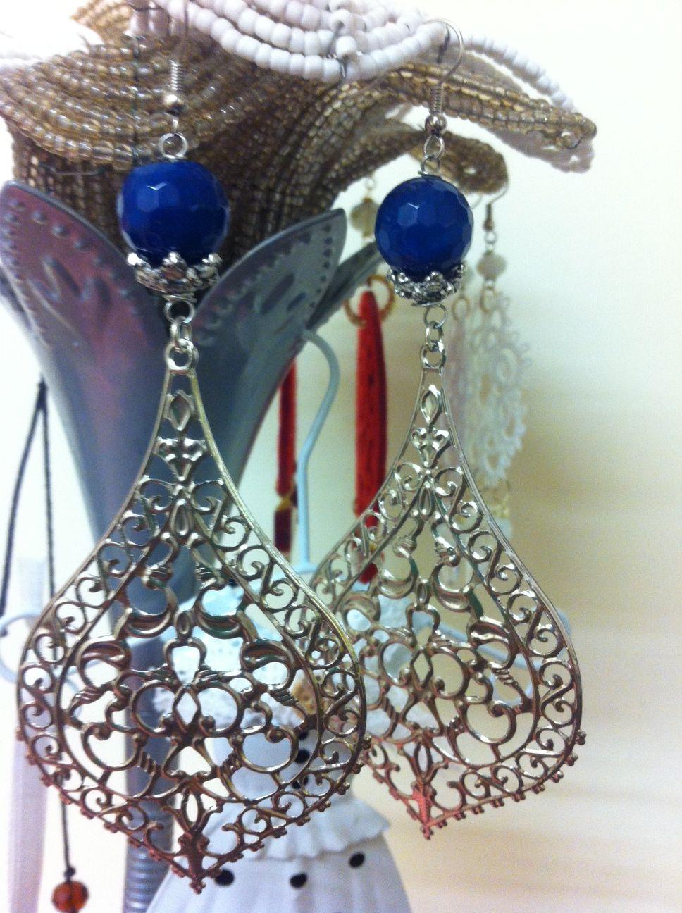 ottone e pietra blu