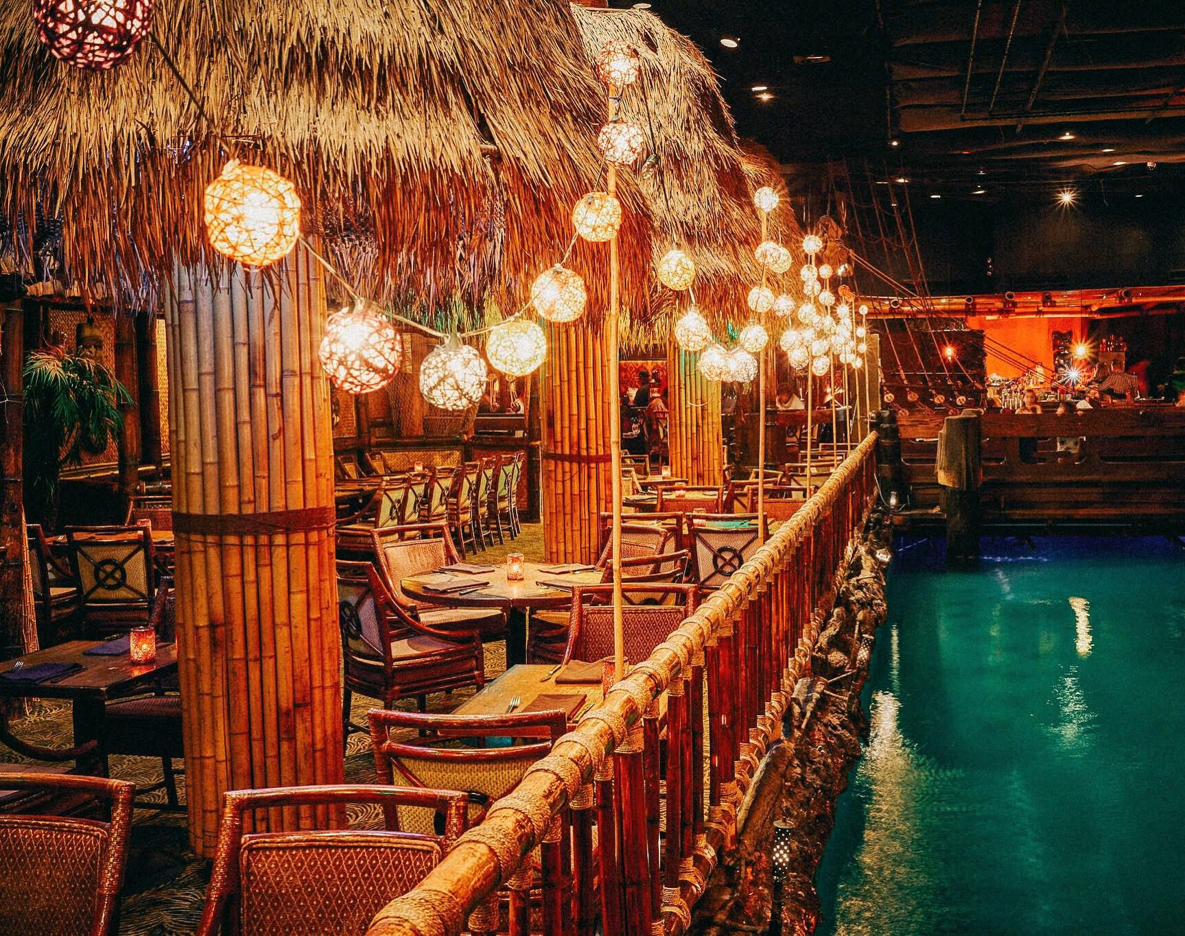 Enjoy Your With A Side Of At This San Francisco Landmark Which Has Welcomed Tiki Loving Fairmont Hotel San Francisco Rustic Outdoor Spaces Fairmont Hotel