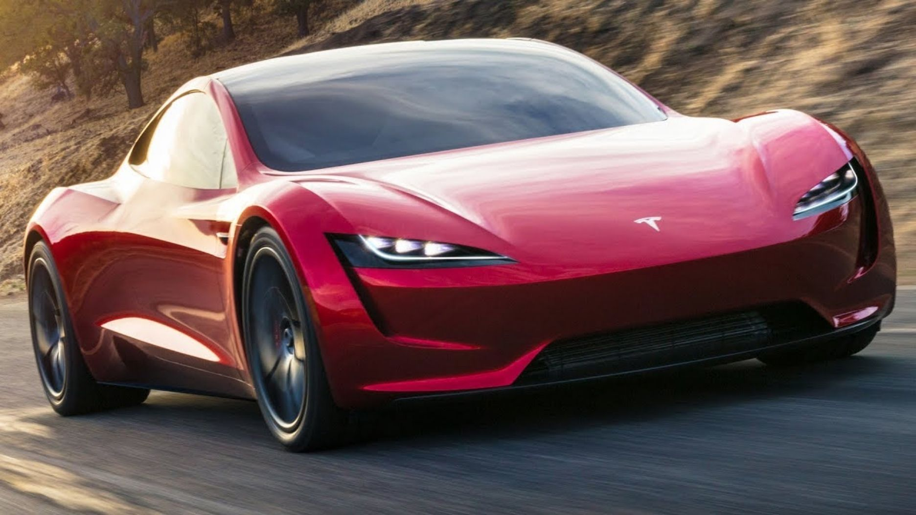 """Watch """"Tesla Roadster (2020) The Quickest Car in the World"""