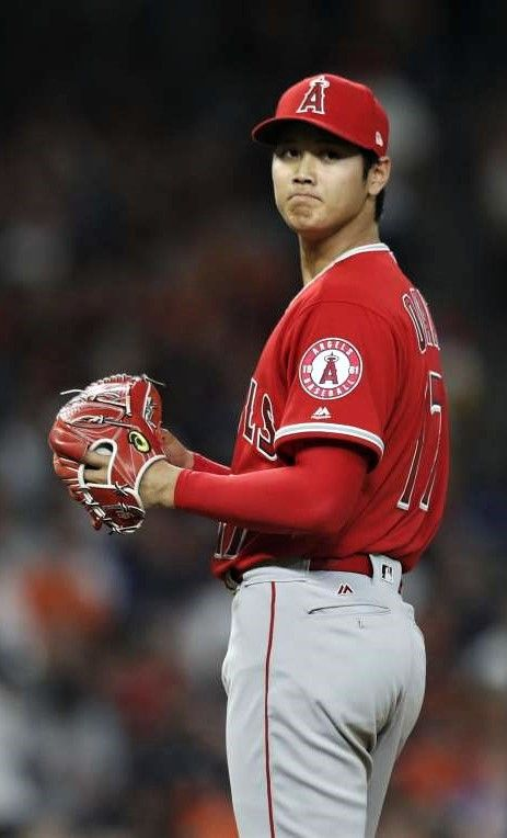Angels' Shohei Ohtani gives Astros a glance at his ...