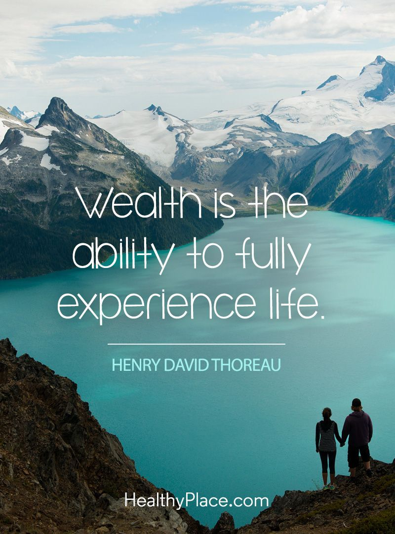 Manifesting health is wealth quotes thoreau quotes