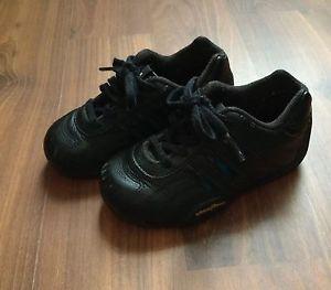 Toddler Adidas Racer Low Goodyear tamaño 7K todo negro Ebay bebé en