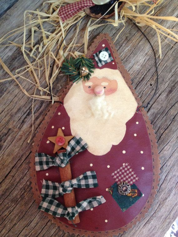 Vintage Brown Paper Bag Ornaments Hand Made By Ifindutreasure