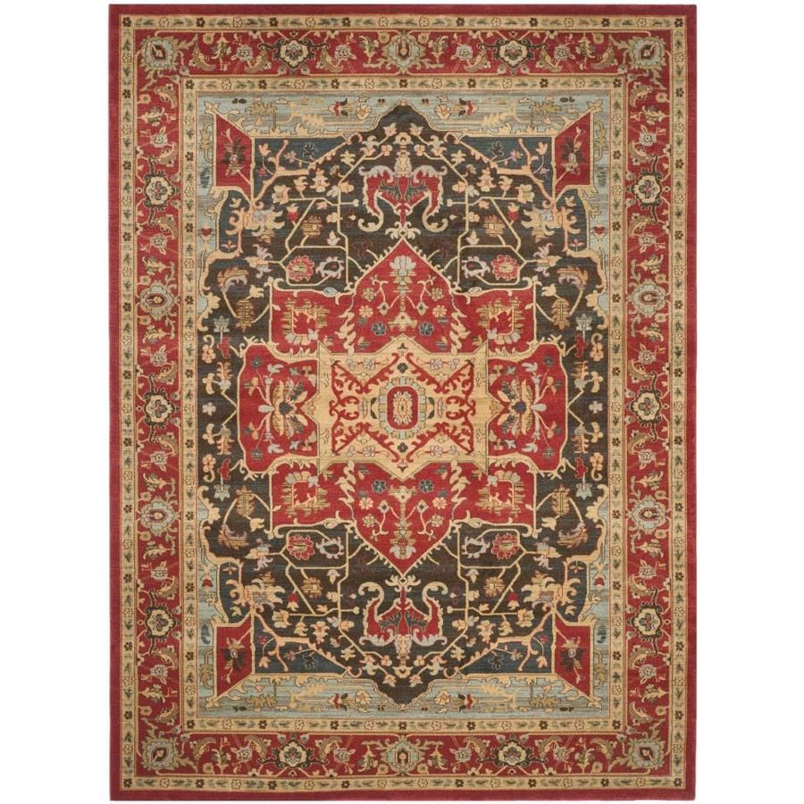 Safavieh Mahal Bakite Red Red Rectangular Indoor Machine Made Oriental Area Rug Common 10 X 14 Actual 10 Ft W X 14 F In 2020 Diy Carpet Carpet Runner Area Rugs