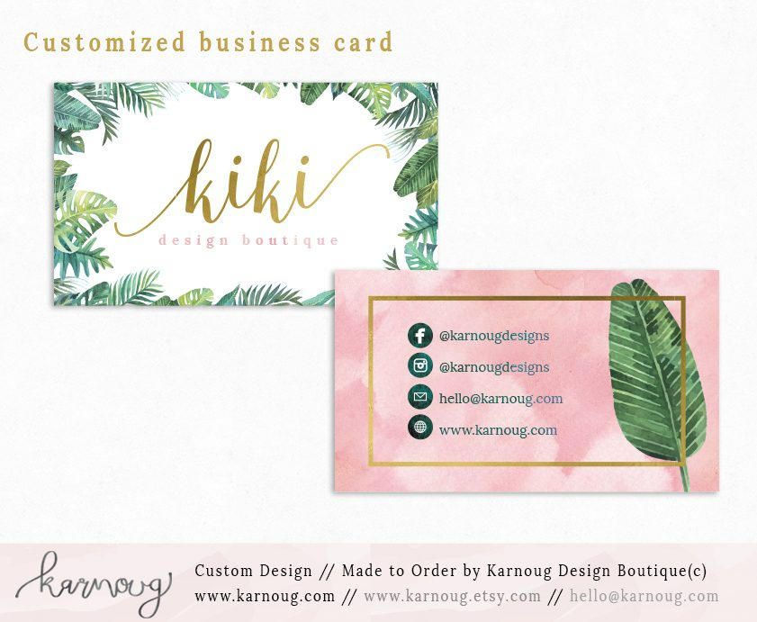Business Card Instant Business Cards Vista Business Cards Custom Business Cards Printa Business Cards Watercolor Printable Business Cards Custom Business Cards