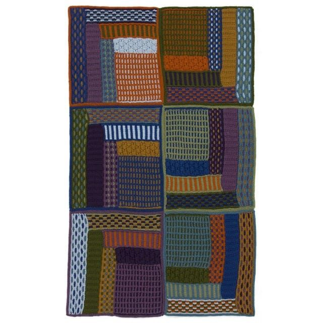 Knit Kit - Slip Stitch Lapghan (With images)   Blanket ...