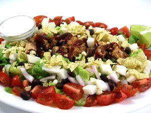Awe Inspiring Cpks Barbecue Chicken Chopped Salad Made Skinny Weight Interior Design Ideas Skatsoteloinfo