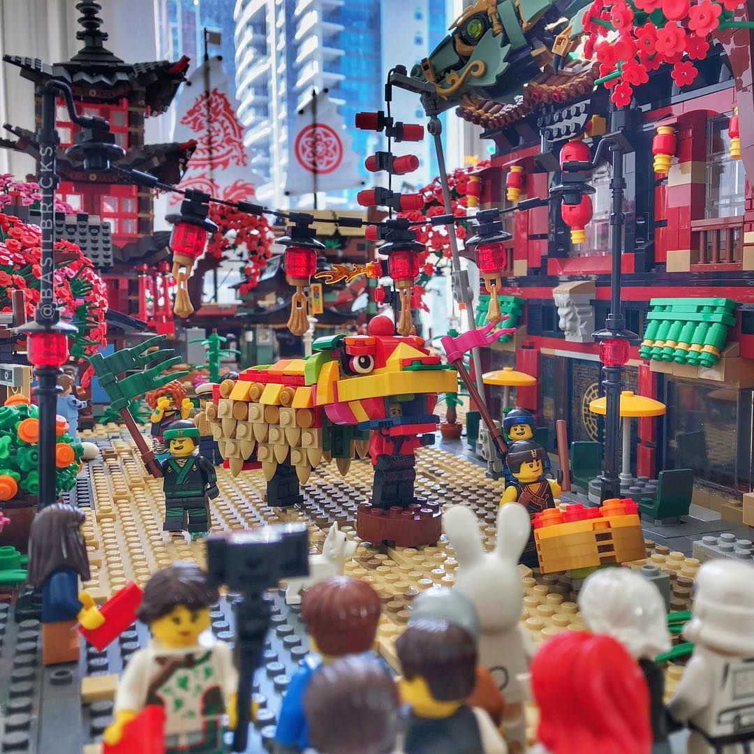 With Chinese New Year Coming In A Few Days The City Is Thrust Into