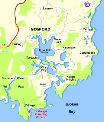New South Wales Gosford City Council located on the Central