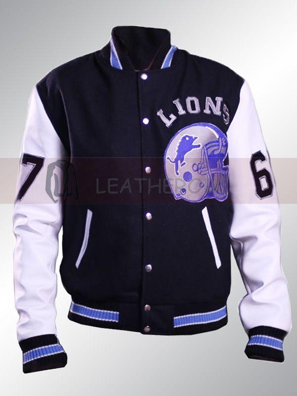 Beverly Hills Cop Detroit Lions Jacket Leatherobe Celebrities Leather Jacket Leather Sleeve Jacket Leather Jacket Men Style