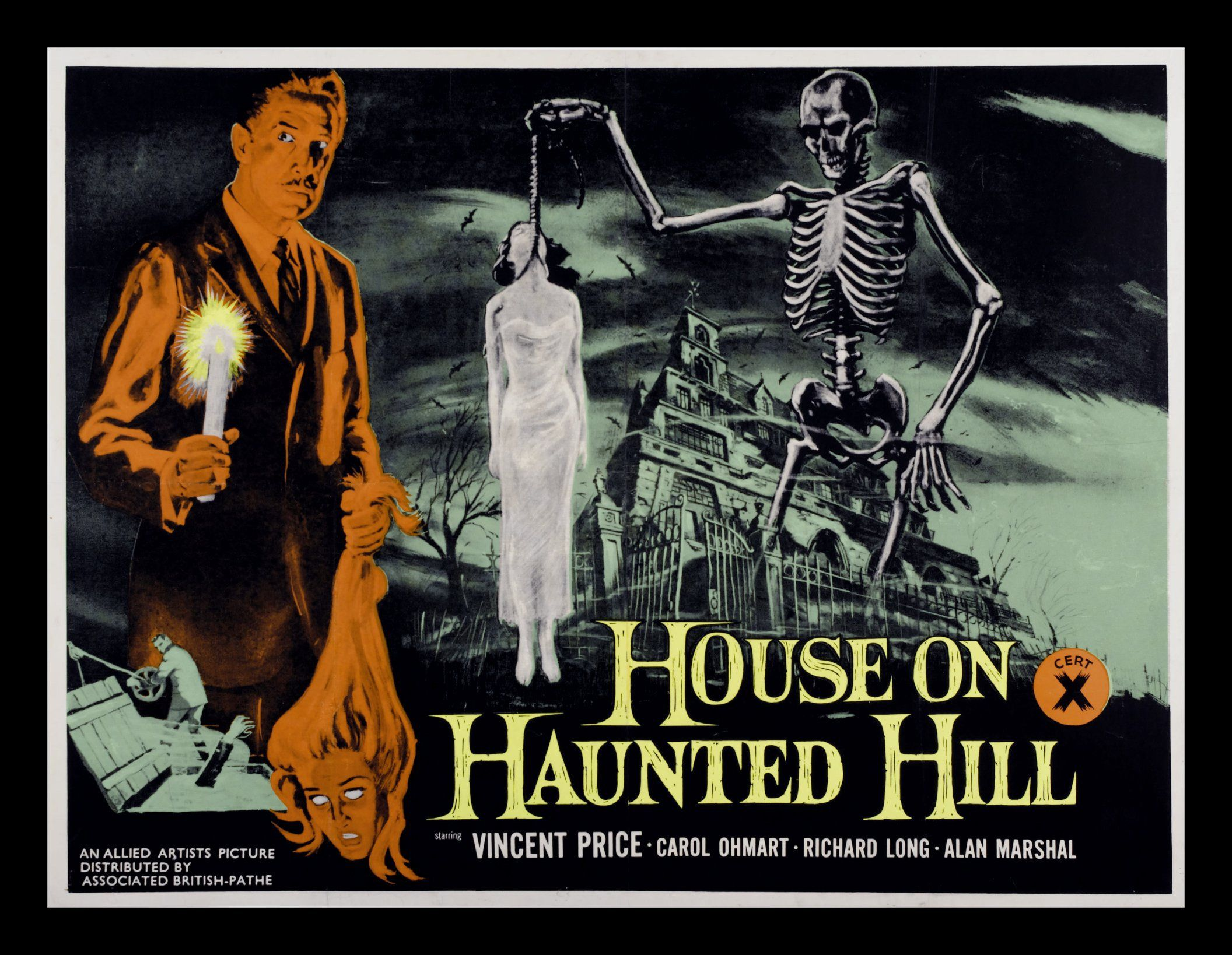 House on Haunted Hill These Amazing Shadows Movies