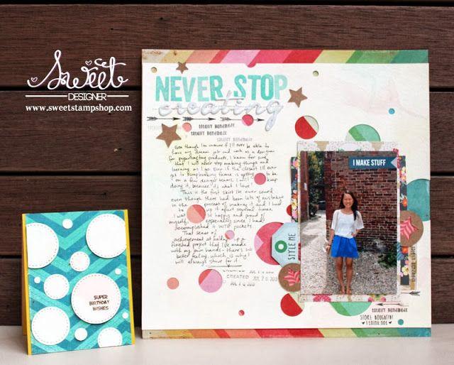 Sweet Stamp Shop - Triple Sweet - Designer Michelle Yuen