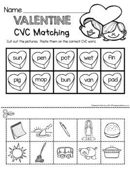 FREE Kindergarten Valentine's Day Centers -... by Keeping My Kinders Busy | Teachers Pay Teachers