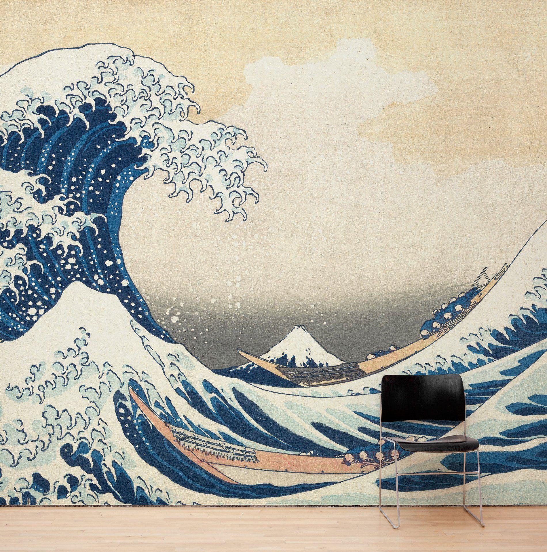 The Great Wave off Kanagawa by Katsushika Hokusai Wall