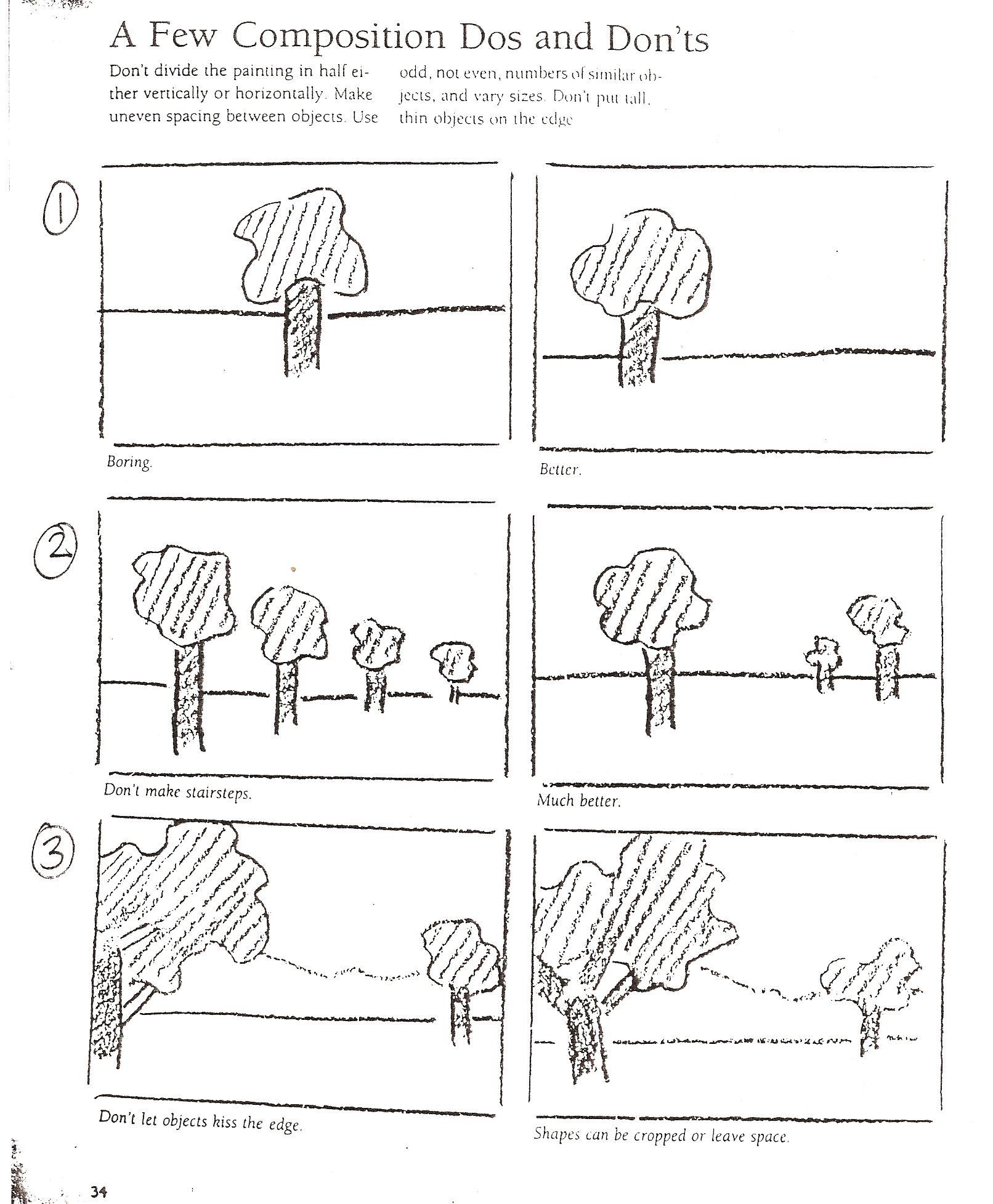 art lessons composition notes art handouts worksheets pinterest composition art lessons. Black Bedroom Furniture Sets. Home Design Ideas