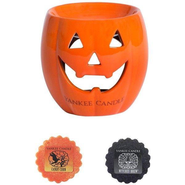 Halloween Pumpkin Wax//Oil Burner Candle Holders Gift Set