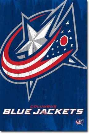 Blue Jackets - Logo 13 Poster