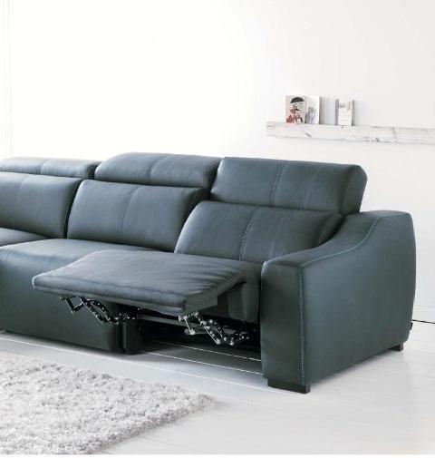 Sof en piel con pies movibles muy c modo sof s pinterest - Sofas muy comodos ...