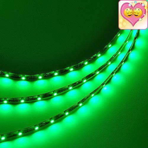 12 Volt Led Light Strips Ledwholesalers 16Ft Flexible Led Ribbon With 300Xsmd3528 Green 2026Gn