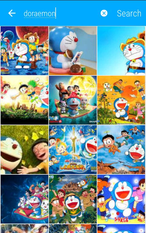 Doraemon wallpaper searching android thememaker