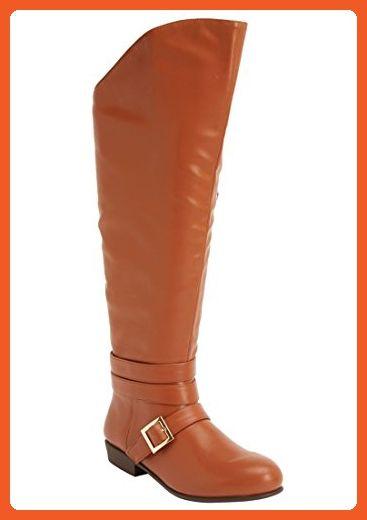 720446e8eac Comfortview Elsa Wide Calf Boot (Cognac