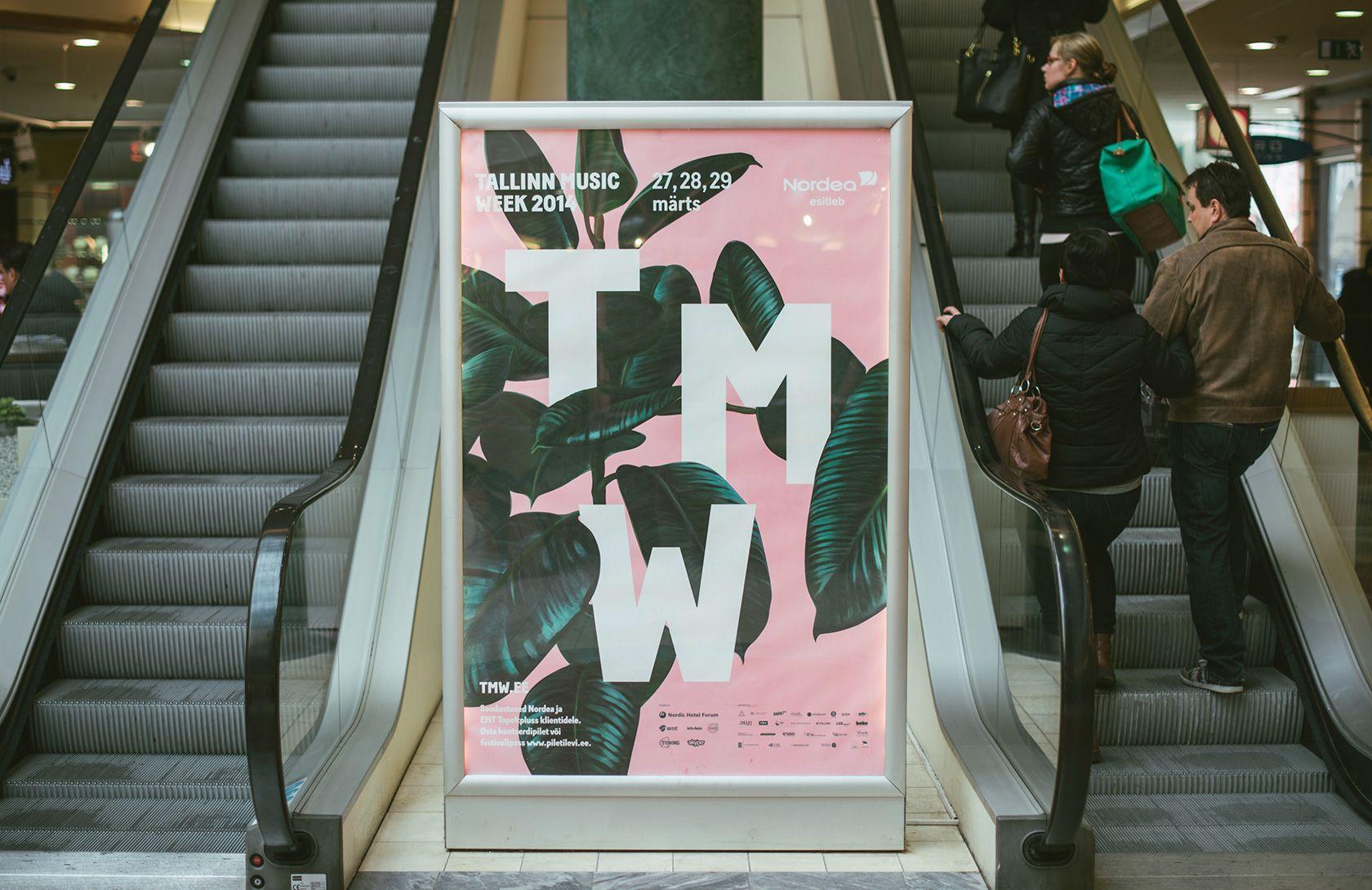 Tallinn Music Week 2014 Aku Designs Posters Pinterest Design April 2010