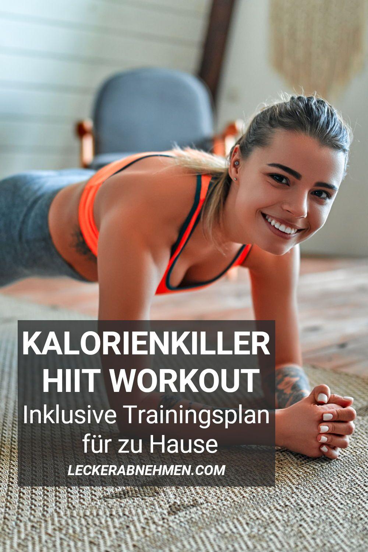 Dieser HIIT Cardio Trainingsplan für zuhause ist für alle, die schnell Fett verbrennen möchten. Sieh dir hier den Trainingsplan zum Abnehmen mit effektiven HIIT Übungen an.
