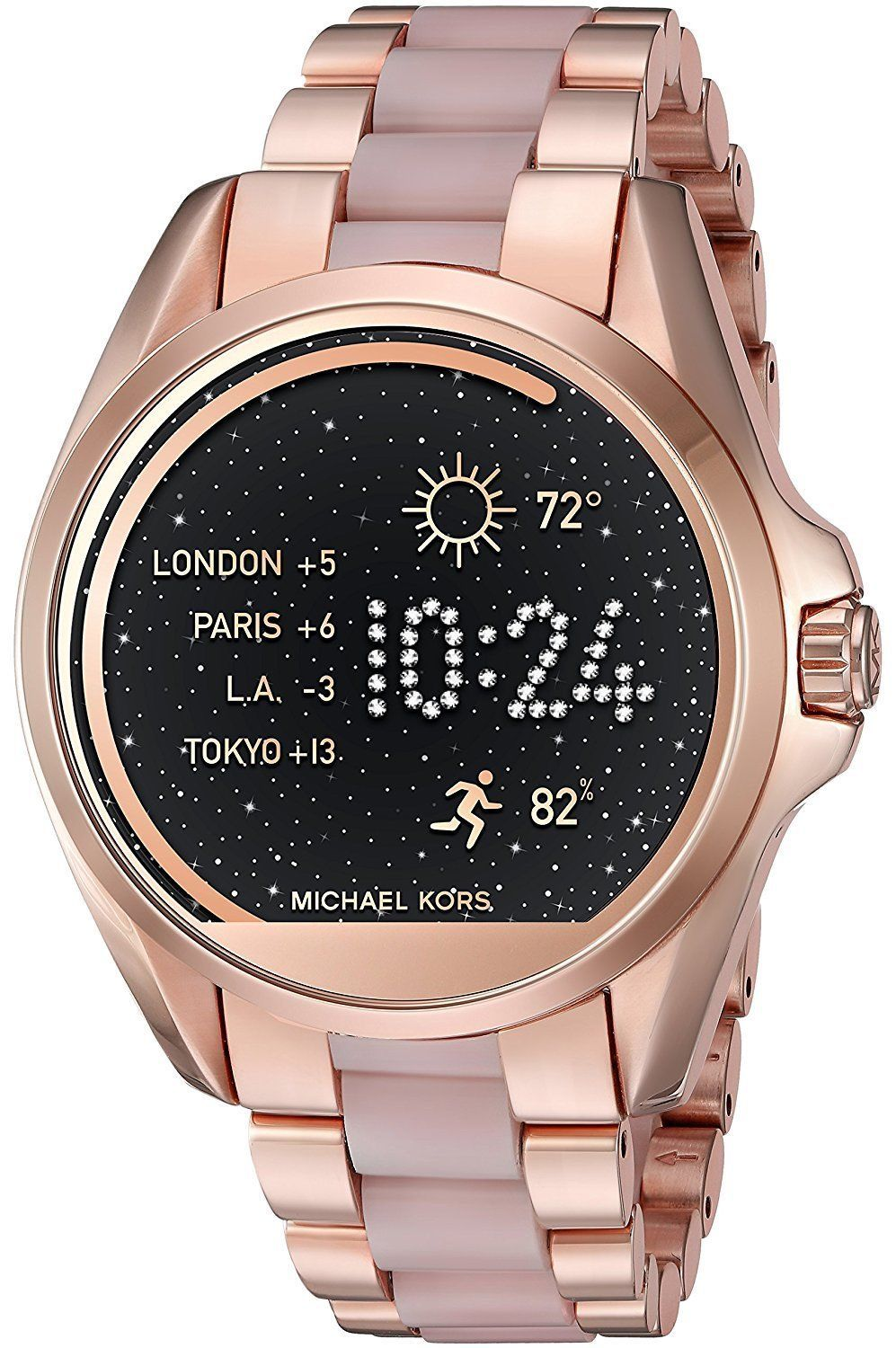 792dc2fa4774 FACTORY SEALED Michael Kors Access Rose Gold Pink Two Tone Smartwatch  MKT5013