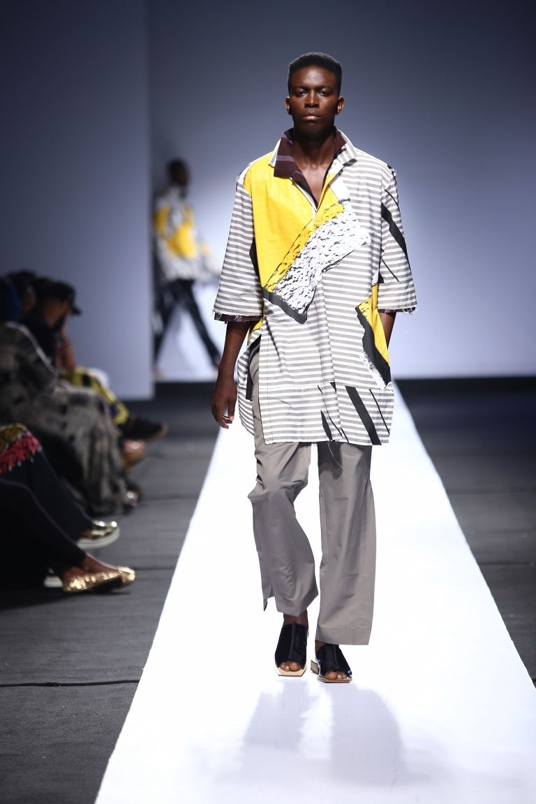 Heineken LFDW2015 – Day 1 – Kenneth Ize | Lagos Fashion & Design Week